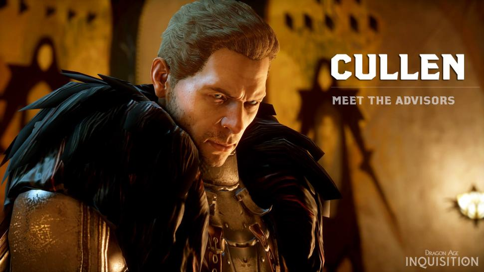 Dragon Age: Inquisition - Cullen im Charakterprofil. (1)