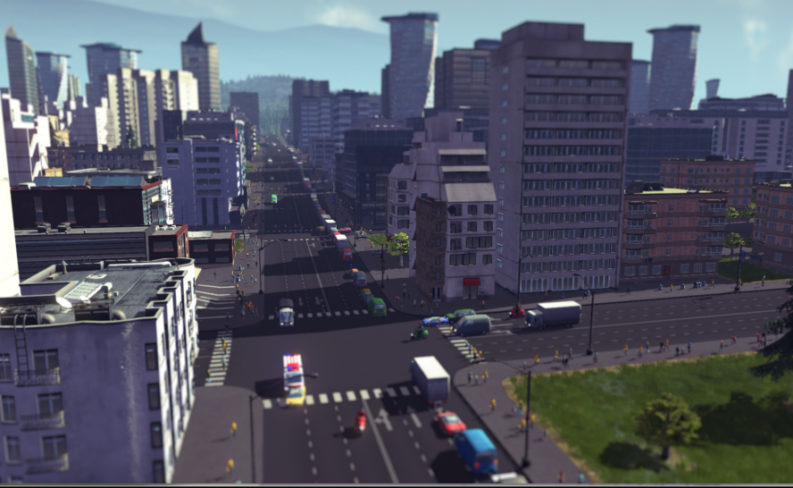 Cities: Skylines - Video mit geschnittenen Szenen. (1)
