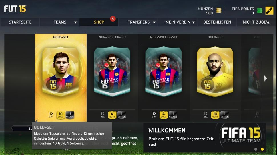 Fifa 15 Ultimate Team Guide Münzen Verdienen Gold Packs Oder