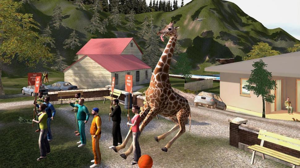 von Goat Simulator bereits für Mobile-Geräte verzeichnen. (1