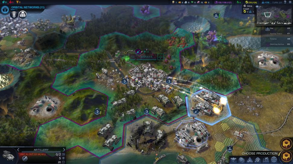 Civilization: Beyond Earth in der Testübersicht. (1)