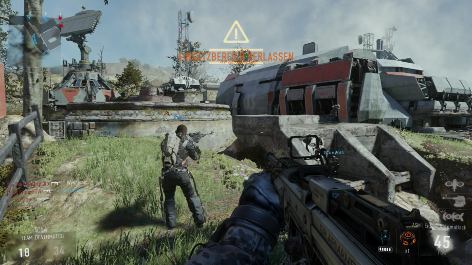 Call Of Duty Advanced Warfare Im Test Die Pc Und Ps4 Versionen Im