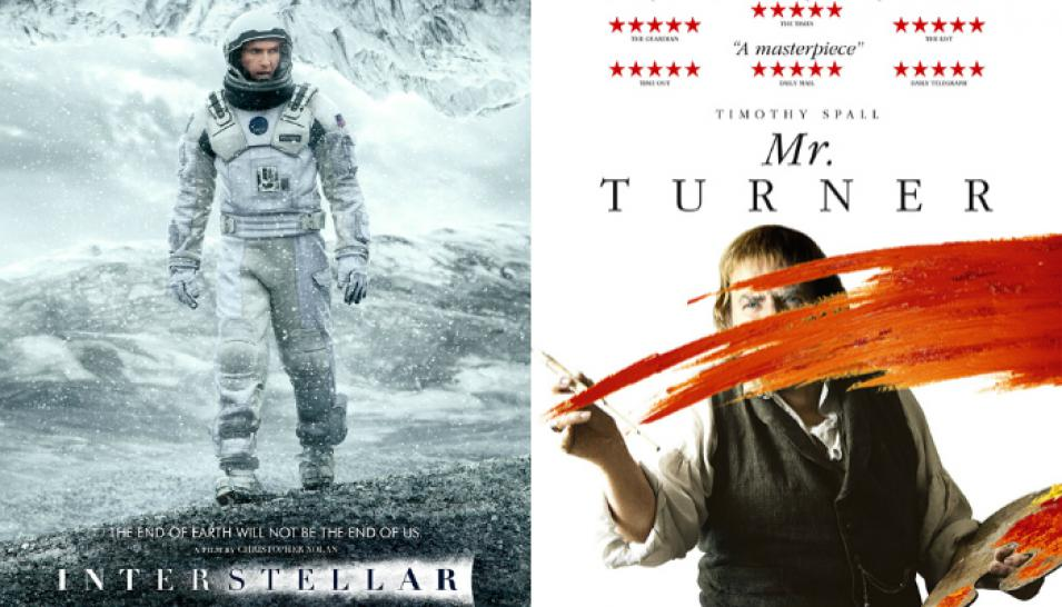 """Interstellar"" (2014) / ""Mr. Turner"" (2014)"