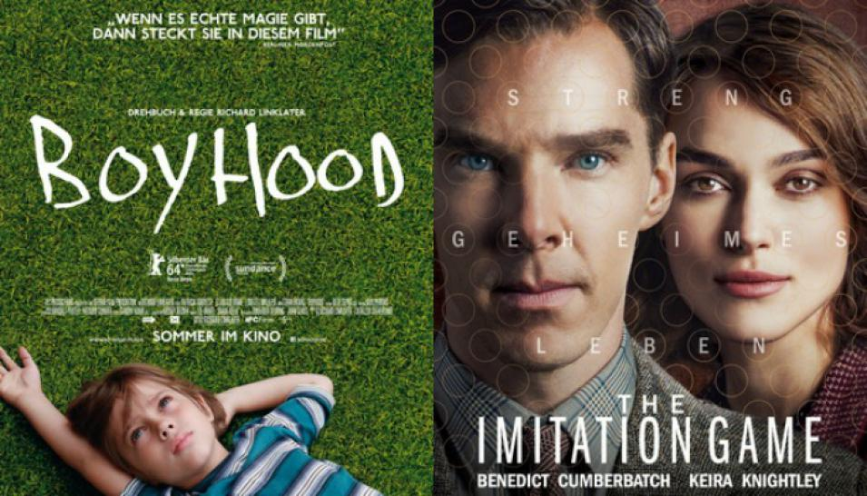"""Boyhood"" (2014), ""The Imitation Game - Ein streng geheimes Leben"" (2014)"