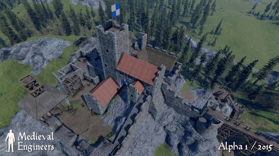 Keen Software hat einen Multiplayer-Modus in Medieval Engineers integriert. (1)
