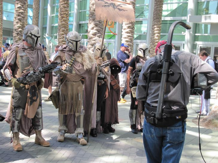 Fotos von der Star Wars Celebration (1)