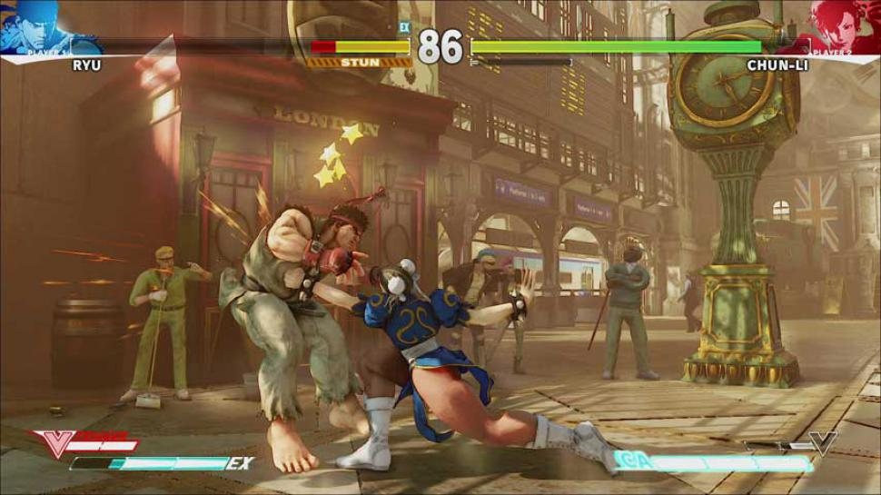 Neue Screenshots zu Street Fighter 5. (1)