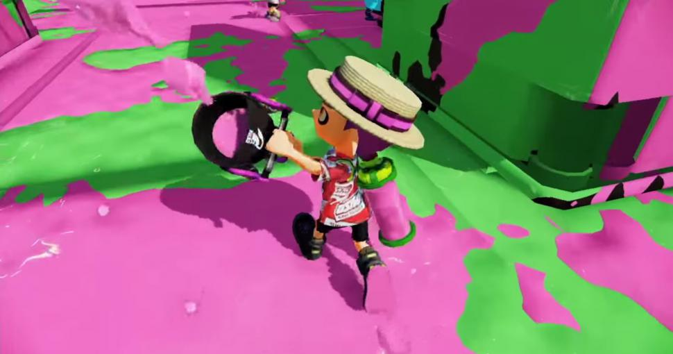 Graffiti Run: Sepia Go!-Chinaklon klaut dreist bei Splatoon (1)