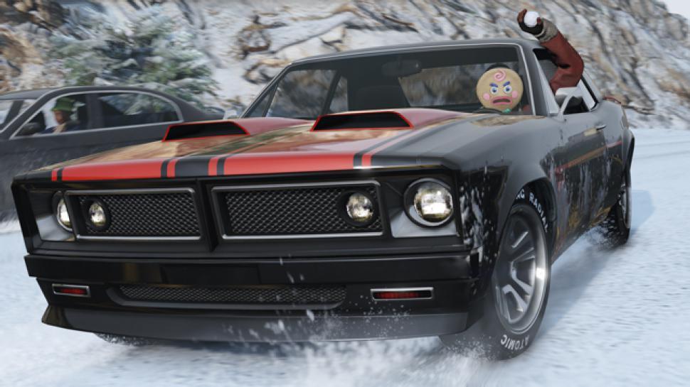 gta 5 online: schneeballschlachten, neues auto und mehr - weihnachts