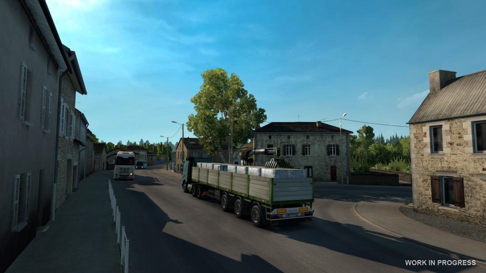 Euro Truck Simulator 2: Frankreich-Erweiterung angekündigt
