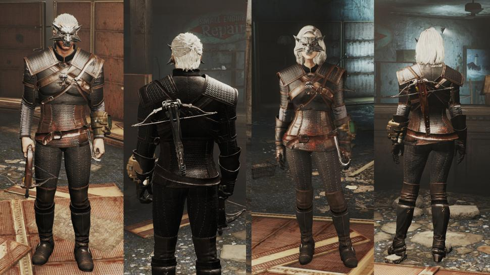 Fallout 4: Schlüpft per Mod in des Hexers Outfit aus The Witcher 3. (1)