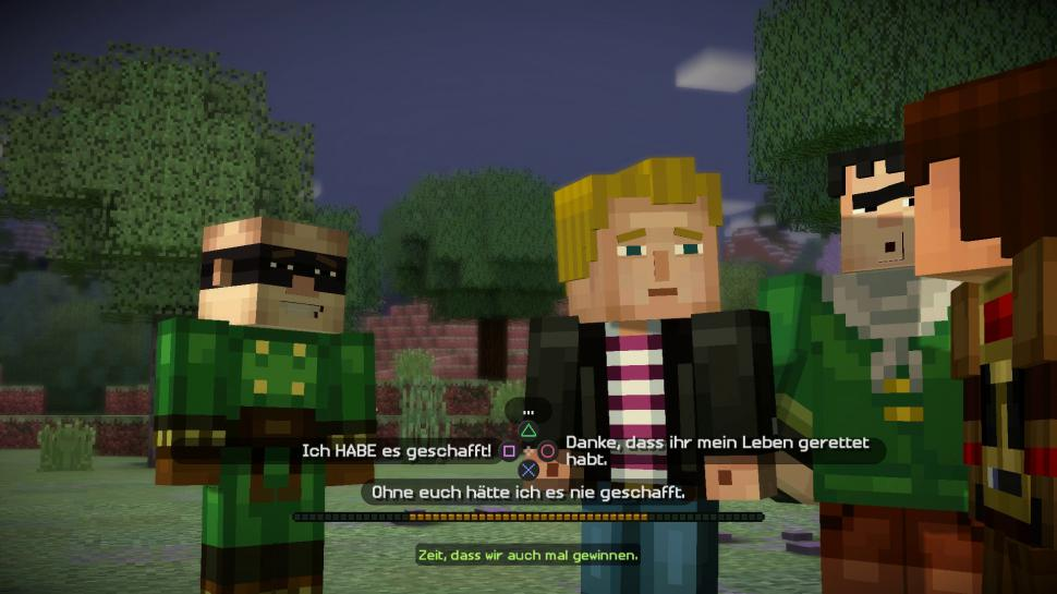 Minecraft Story Mode Im Test Eine Neue Dimension Der Langeweile - Minecraft spiele filme auf deutsch