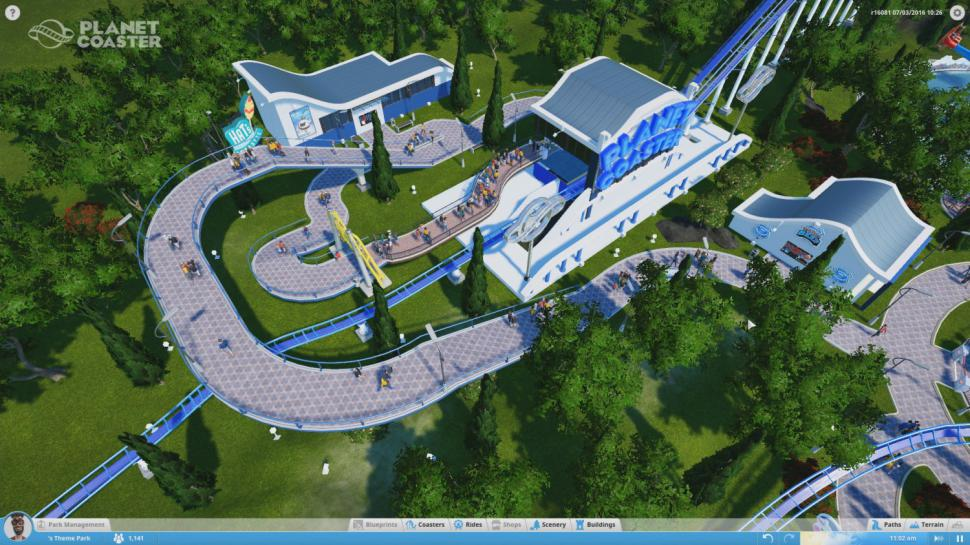 Frontier Developments zeigt brandneue Gameplay-Szenen zu Planet Coaster. (1)