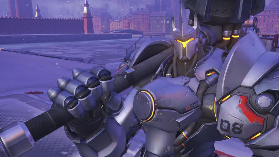 Overwatch:Video - Was Reinhardts Hammer mit Autos anstellt (1)