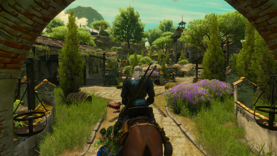 Die neue Region Toussaint bei The Witcher 3: Blood and Wine soll so groß sein wie Ard Skelige. (1)