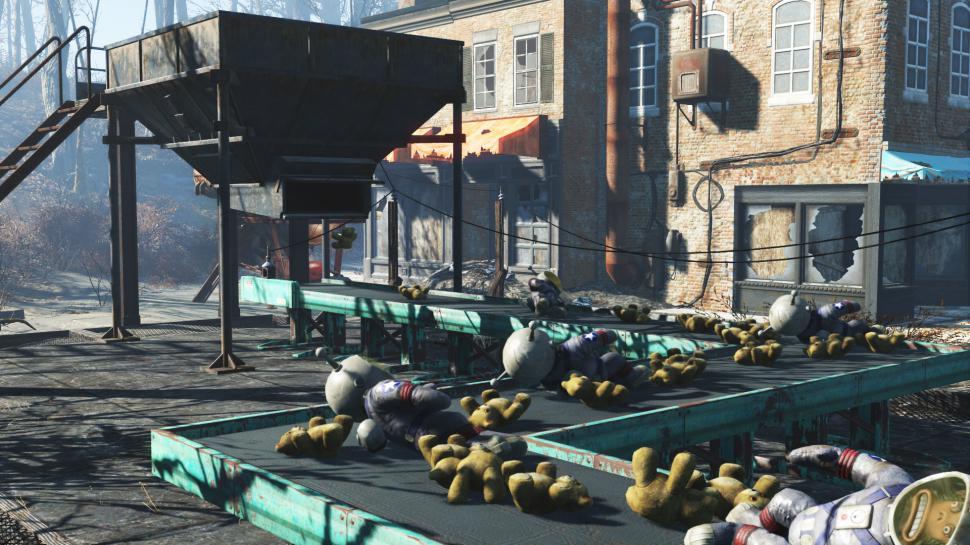 Fallout 4: Sim Settlements-Mod macht Siedler selbstständiger