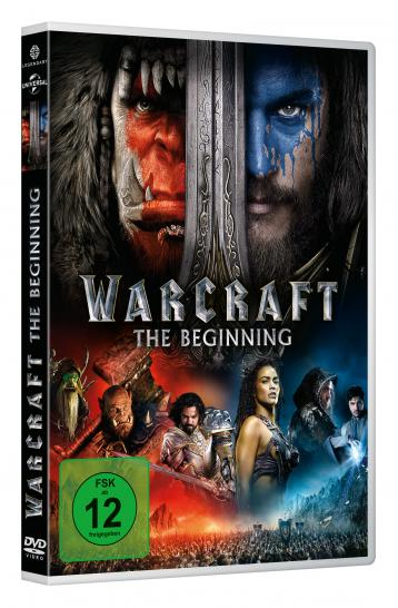Warcraft: The Beginning auf DVD