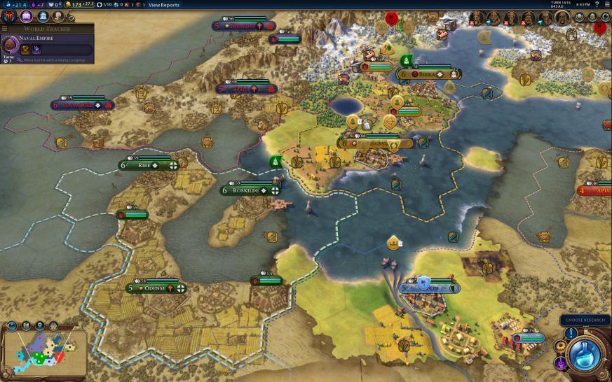 Civilization 6: Frühjahrs-Update erschienen, deutsche Patch