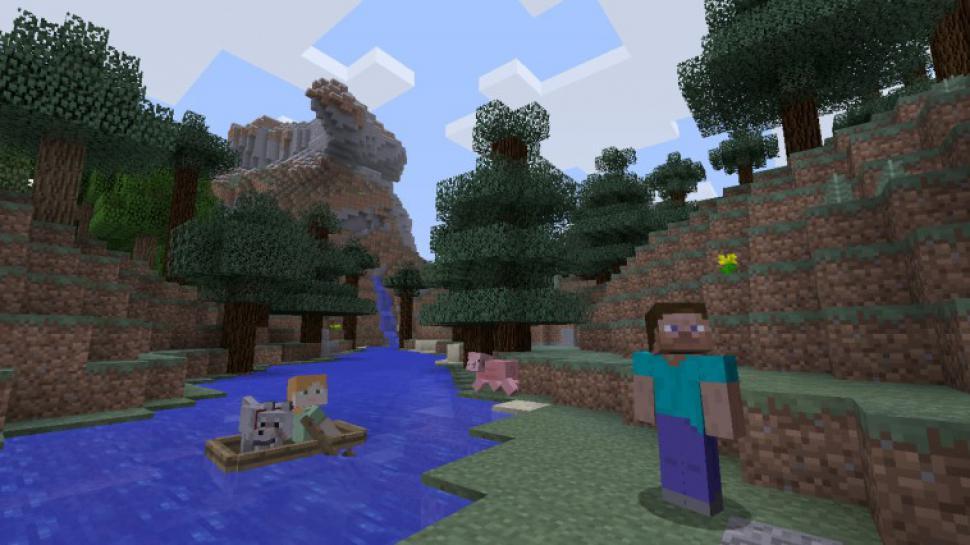 Minecraft Jetzt Auch Für Nintendo Switch Aber Nur In PAuflösung - Minecraft flussig spielen