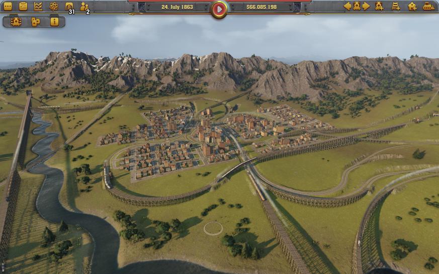 Railway Empire und das Erbe von Railroad Tycoon: Preview zur