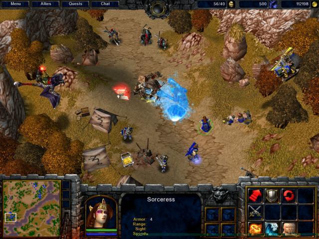 Скриншот 3 Warcraft 3 Gold в жанре Стратегии, Ролевые.