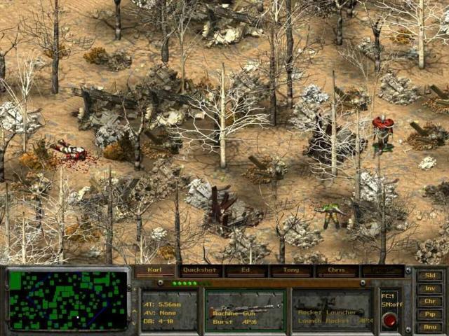 Галерея - Fallout Tactics: Brotherhood of Steel - Square Faction.