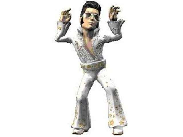 Elvis fürs auto wackel Autobegleiter der