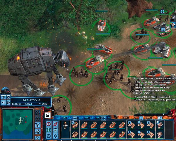 clone wars spiele