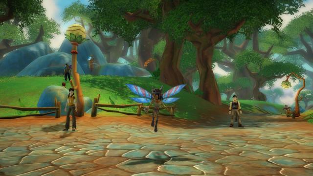 Free realms beta des kostenlosen online games von sony gestartet