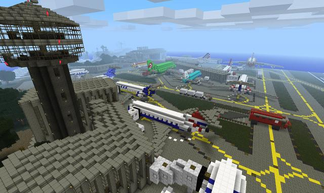 MinecraftWunderwerke Als Download Erweitert Eure Spielwelt Oder - Minecraft fertige hauser einfugen