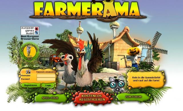 Farmerama Login