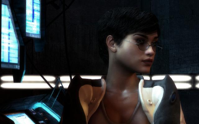Half life 2 mit parallax occlusion mapping neue screenshots und