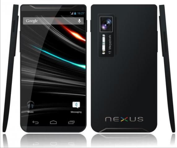 Galaxy Nexus 2: Erstes Bild zu Googles Smartphone-Monster ...
