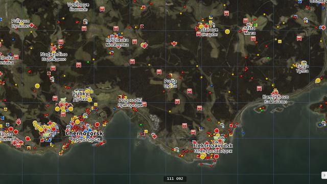 Spielwelt - Navigation und Vorräte on