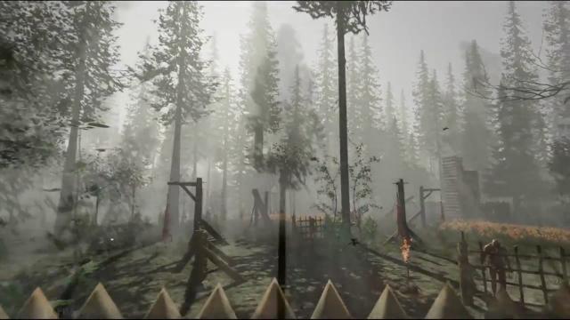 the forest gameplay trailer zum survival horrorspiel und. Black Bedroom Furniture Sets. Home Design Ideas