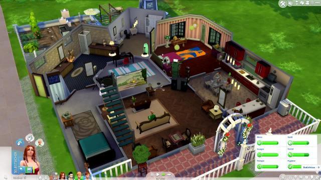 die sims 4 im testvideo der schw chste teil der reihe. Black Bedroom Furniture Sets. Home Design Ideas