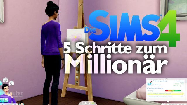 die sims 4 tippsvideo 5 schritte zum million r. Black Bedroom Furniture Sets. Home Design Ideas