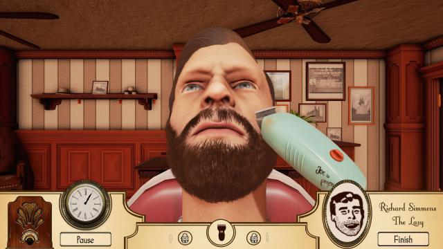 Barber Shop Spiel