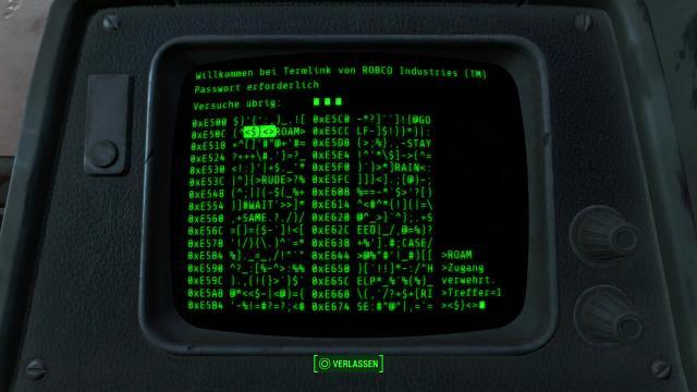 Fallout 4 Terminal Hacken