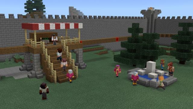 Minecraft Update Bringt Viele Neue Inhalte Und Pandabären - Minecraft spielen pc