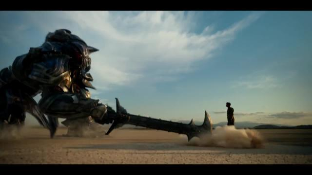 Transformers 5 Verzweiflung Zerstörung Im Ersten Trailer Zu Bays Roboter Actioner
