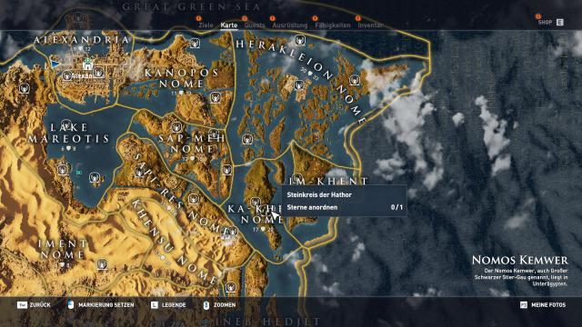 Assassin S Creed Origins Komplettlosung Locations Guide