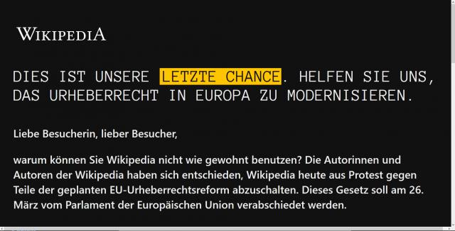 Wikipedia-offline-Aus-Protest-gegen-geplanten-Uploadfilter