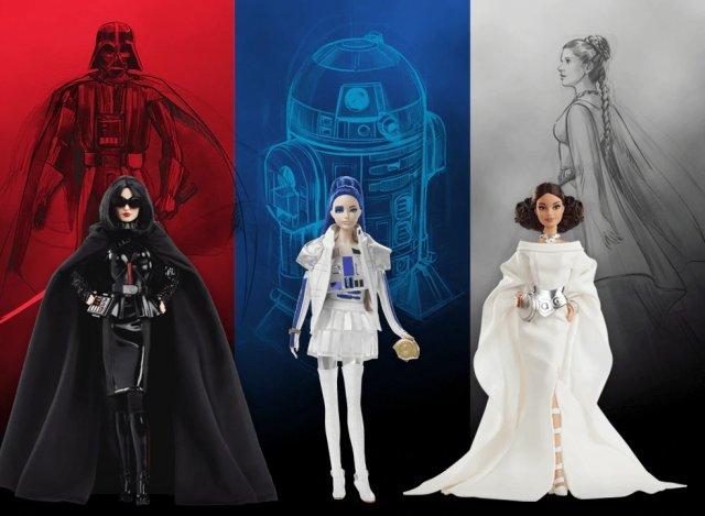 Mattel verkauft jetzt Star-Wars-Barbies - wirklich!