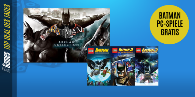 die besten deals des tages batman pc spiele gratis und. Black Bedroom Furniture Sets. Home Design Ideas
