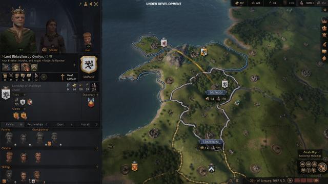 Crusader Kings 3: Fortsetzung der Mittelalter-Strategie-Reihe kommt