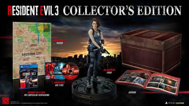 Amazon.com: Resident Evil 2 Collector's Edition PS4 USA ...