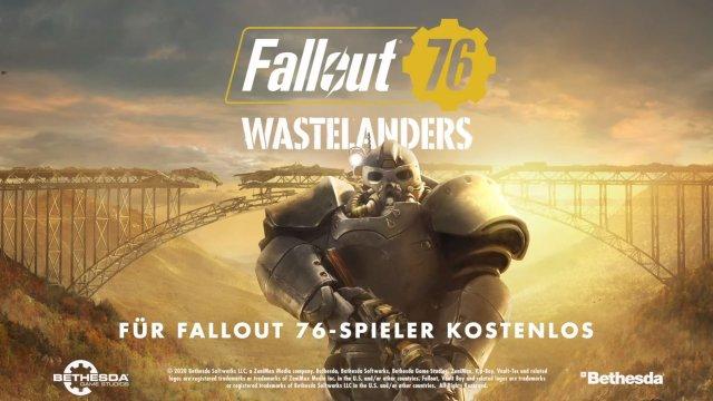 Fallout 76: Wastelanders - Offizieller Trailer verrät Release-Termin