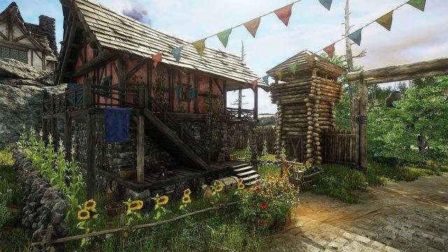 New World ist kein Themepark-MMORPG bietet aber cooles Housing