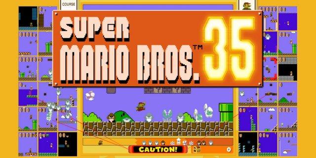 super mario bros. 35: battle-royale-spiel ab sofort
